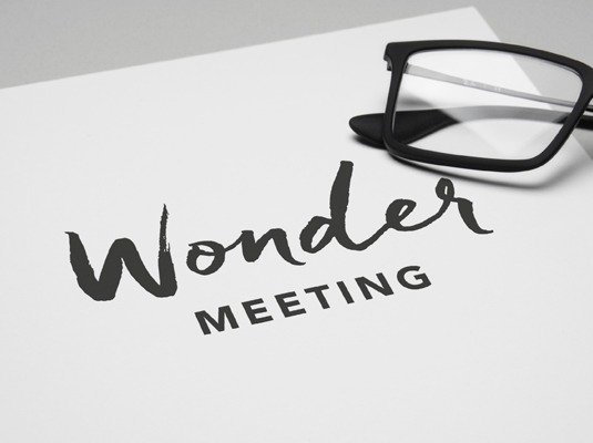 Logotyp Wonder Meeting